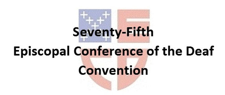 Header of 75th ECD Convention