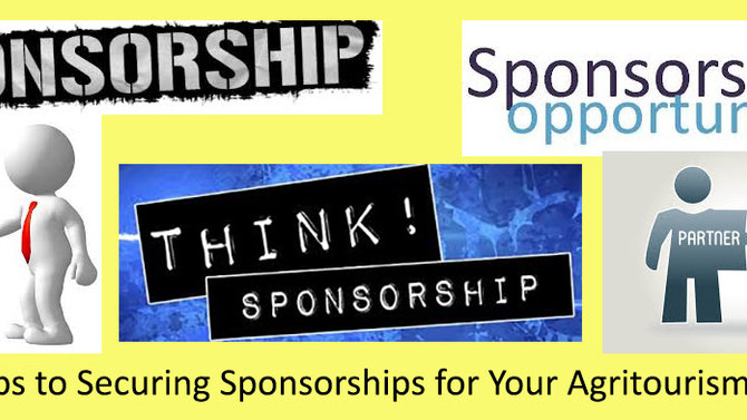 14 Steps to Securing Sponsorships for Your Agritourism Venue
