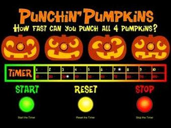 Punchin' Pumpkins Game