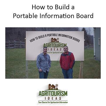 Portable Information Board