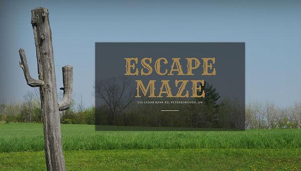 Escape Maze