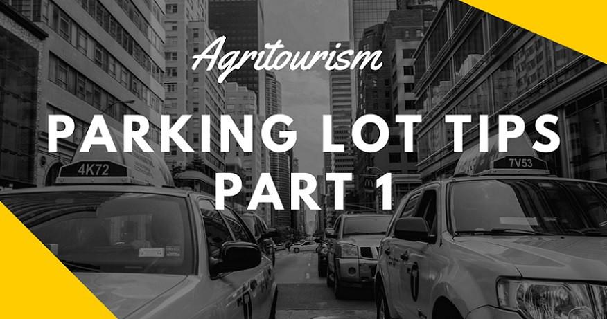 parking lot tips, part 1