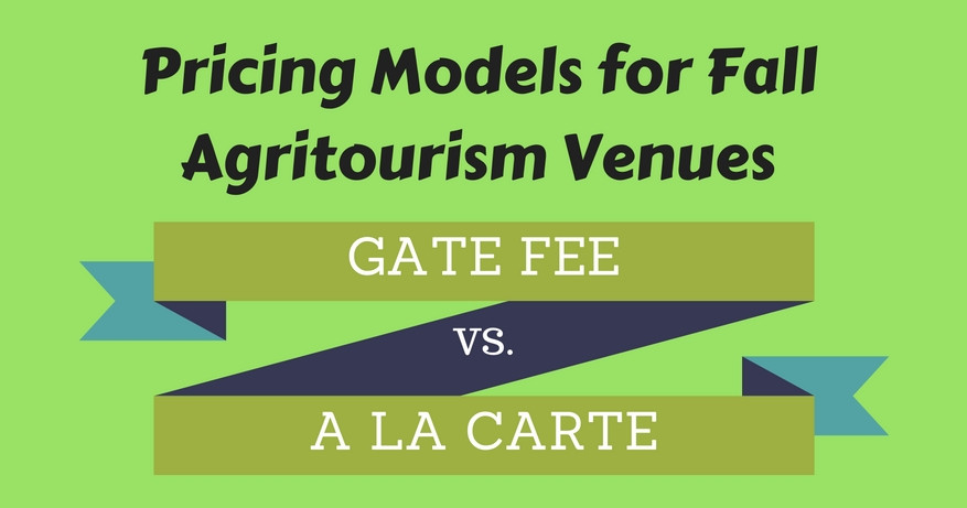 Pricing Models for Fall Agritourism Venues