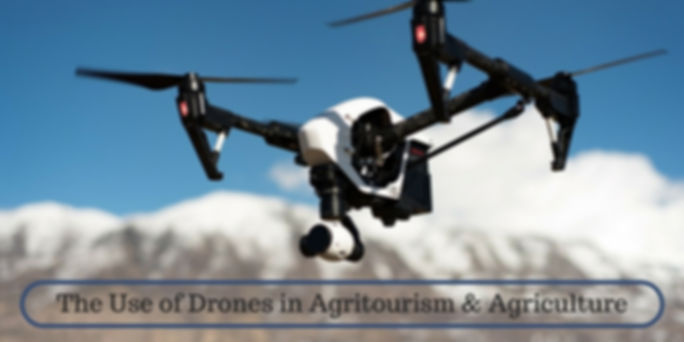 The Use of Drones in Agritourism and Agriculture