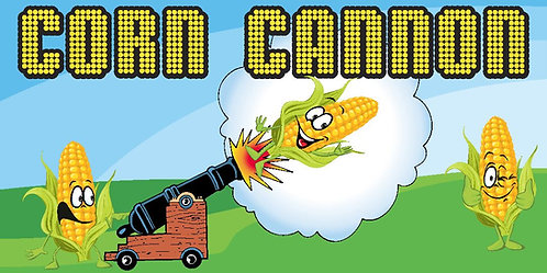 Corn Cannon Informational Sign