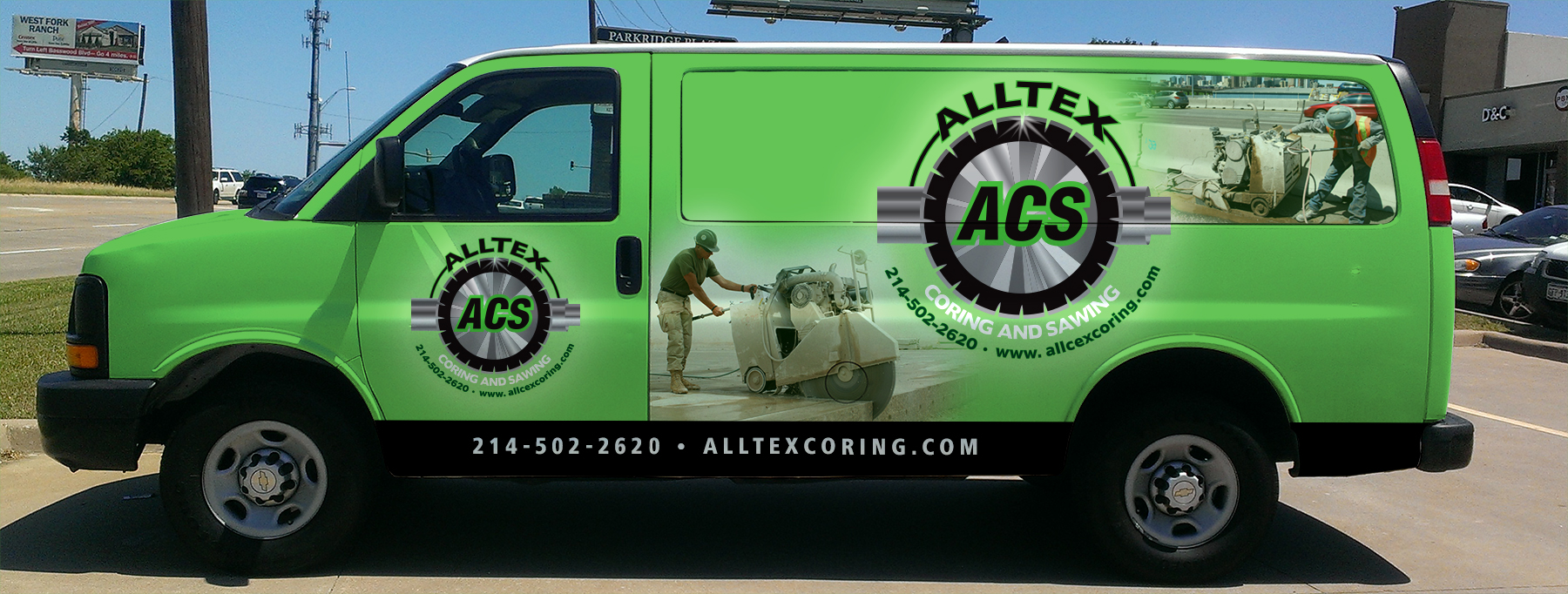 Alltex Coring & Sawing core drilling