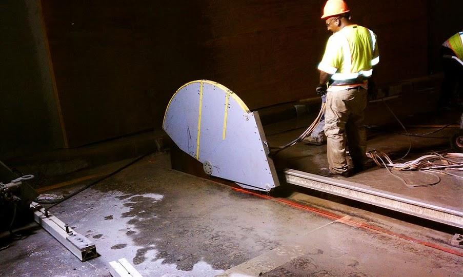slab sawing