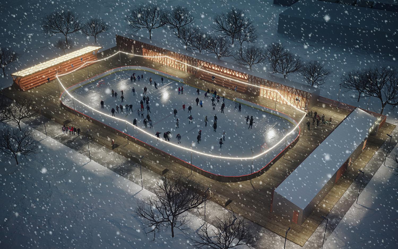 """Ostankino"" ice rink"