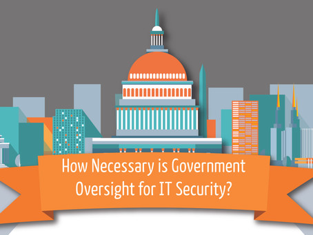 The Role of Government in IT Security - Infographic