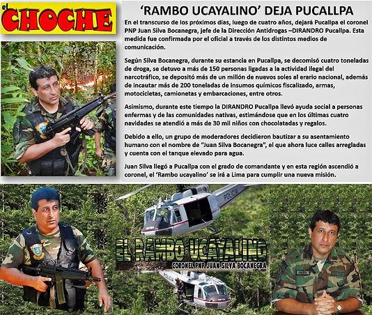 DIARIO INFORMA RAMBO SE DESPIDE DE PUCAL