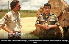 Reportajes Prensa Extranjera al Coronel Juan Silva Bocanegra