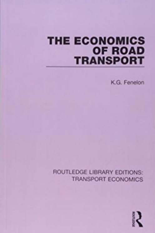 Book - The Economics of Road Transport