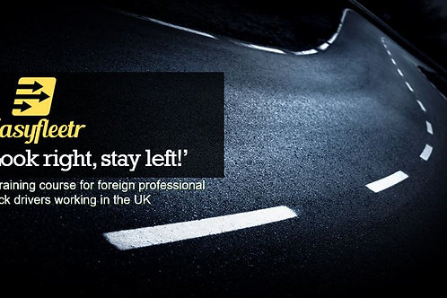 Driver training - 'Look right, stay left!