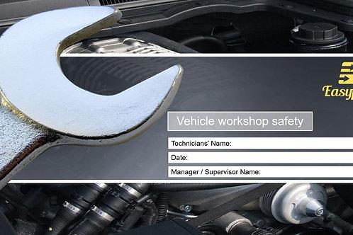 Risk assessment - Vehicle workshop safety