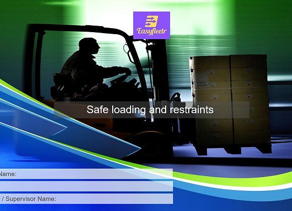 Risk assessment - Safe loading and restraints