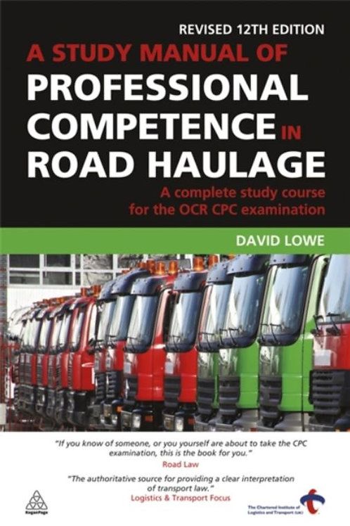 Book - A study manual of professional competence in road haulage