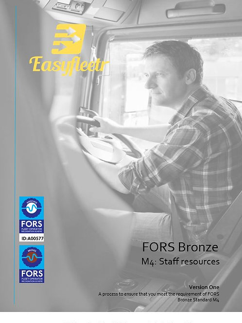 FORS Bronze: M4 Staff resources