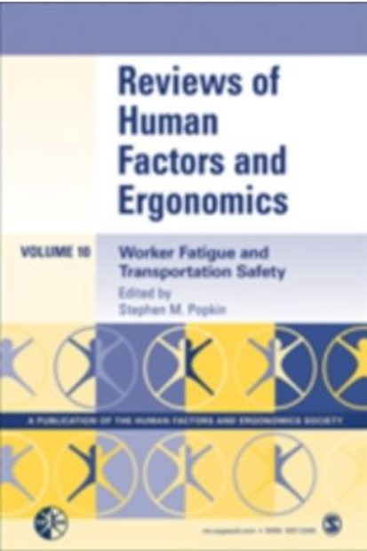 Book - Reviews of Human Factors and Ergonomics