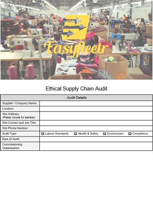 Audit - Ethical Supply Chain