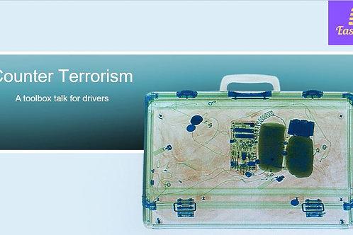 Toolbox talk - Counter Terrorism