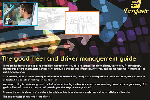 The Good Fleet and Driver Management Guide - Employees and Drivers