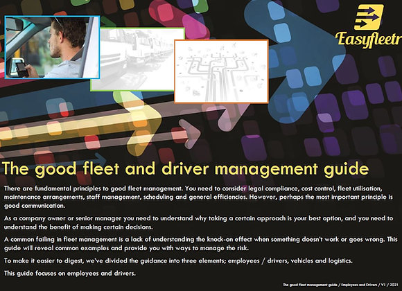 The Good Fleet & Driver Management Guide - Employees & Drivers