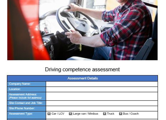 Audit Assessment - Driver Competence