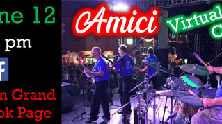 Amici to Perform Virtual Concert