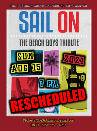 Sail On: The Beach Boys Tribute to be Rescheduled