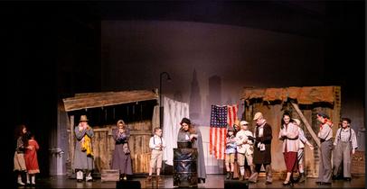 Hooverville stage shot