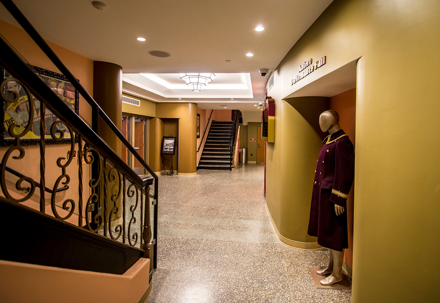 Upper lobby main staircase