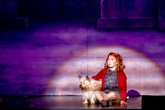 Annie with Sandy