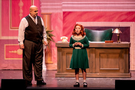 Daddy Warbucks and Annie, Take 2