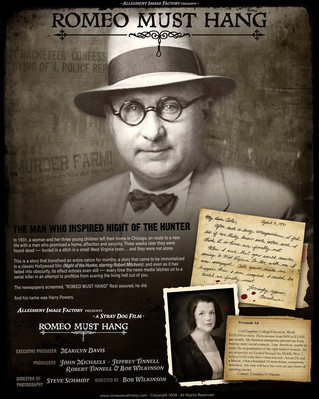 Romeo Must Hang: The Harry Powers Documentary Event