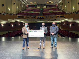 Antero Resources Presents $100,000 Check to Robinson Grand Capital Campaign