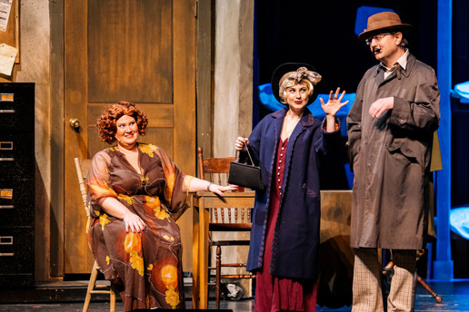 Miss Hannigan and the Mudges