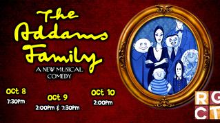 Robinson Grand Community Theatre presents The Addams Family Musical