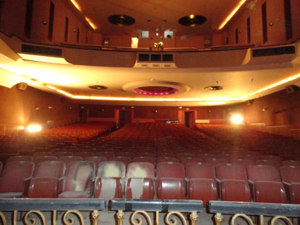 Performance hall seating