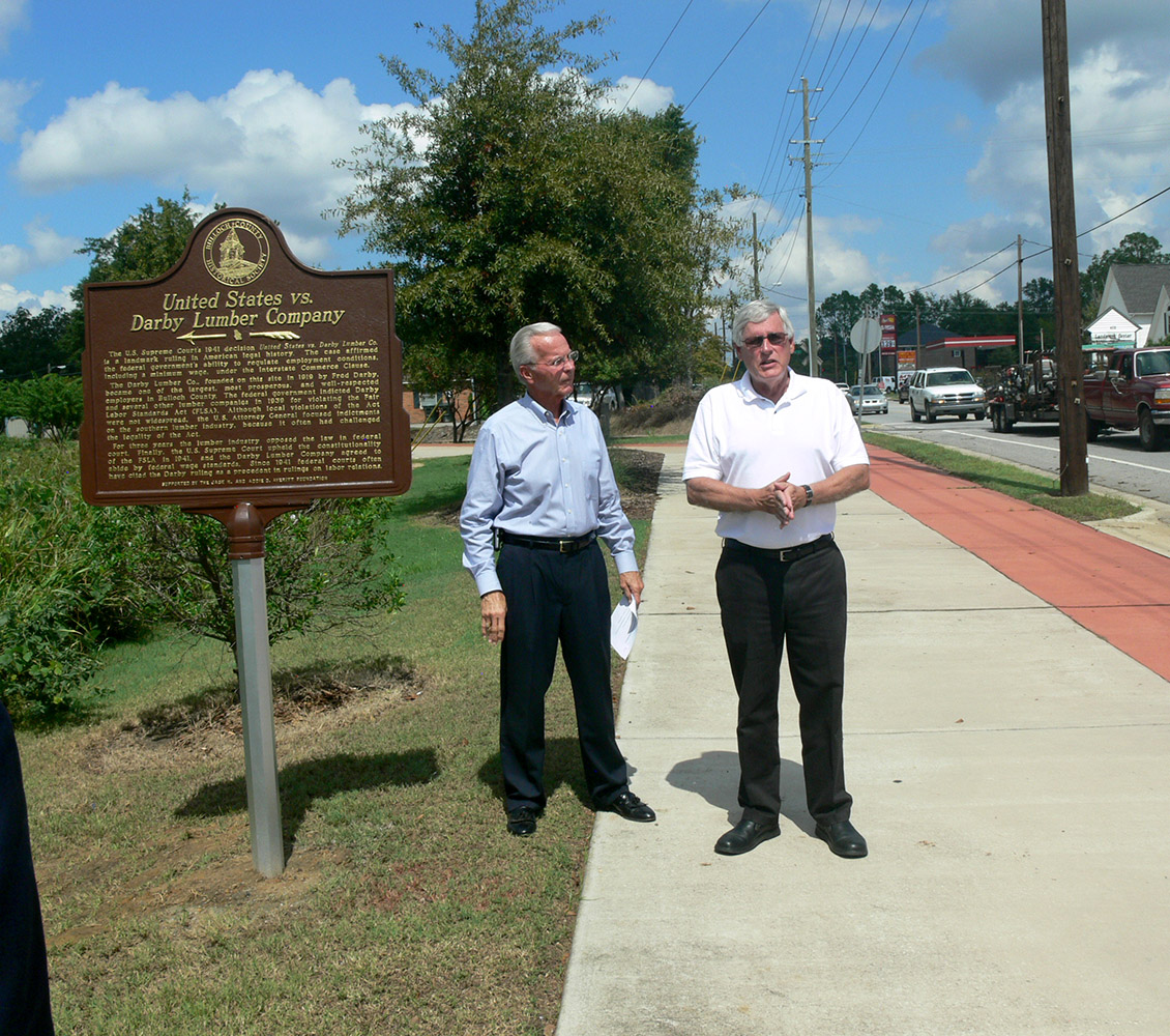 Marker Dedication