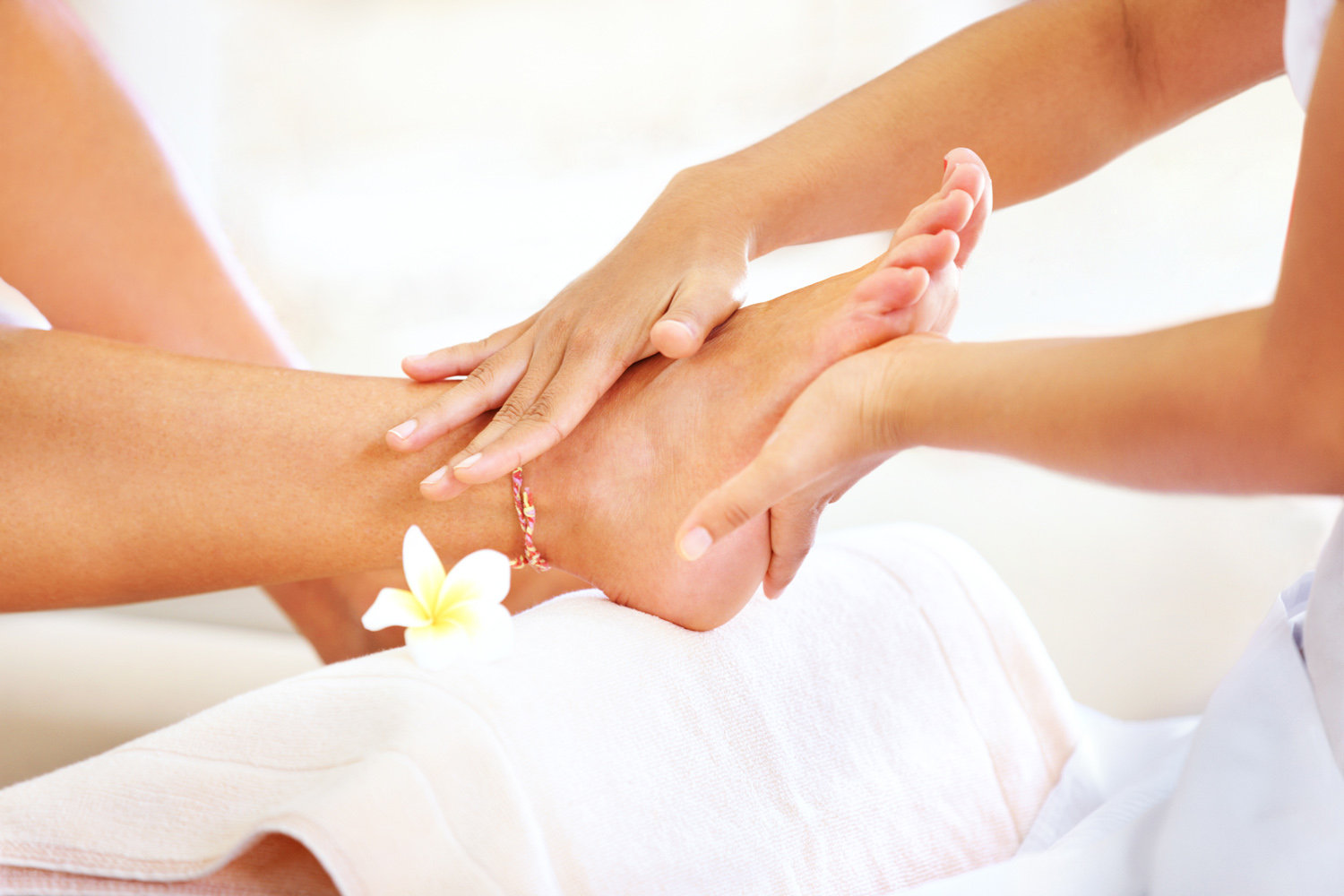Traditional Luxury Spa Pedicure
