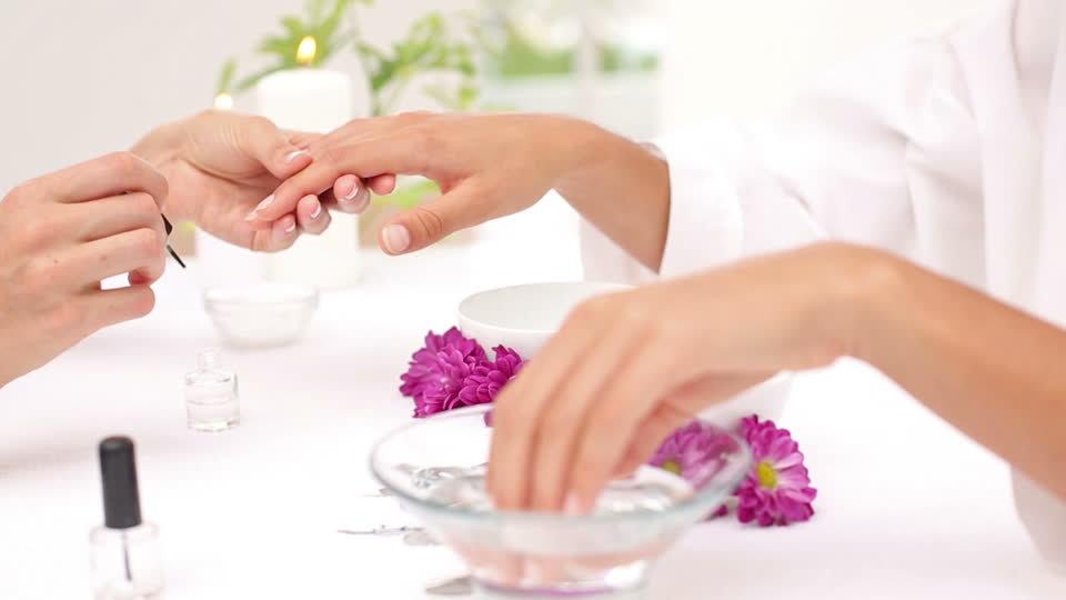 Luxury Spa Dip Powder Manicure