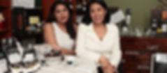 Mishelle y Sonnia de Gellibert fundadoras de Vitrina Gourmet