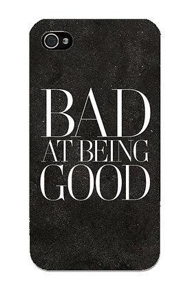 Bad at Being Good