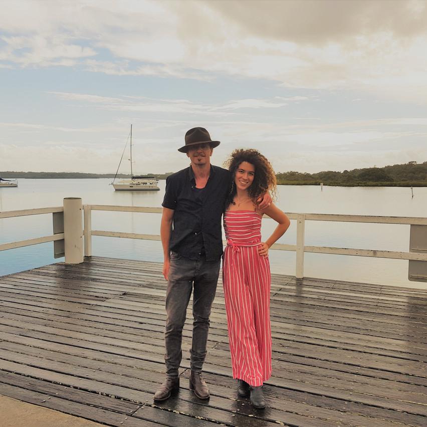 Grace and Hugh Yamba deck