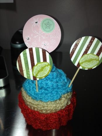 Winter/Holiday cupcake picks