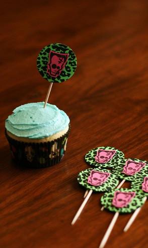 Frankie cupcake picks