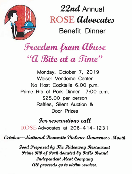 22nd Annual ROSE Advocates Benefit Dinner