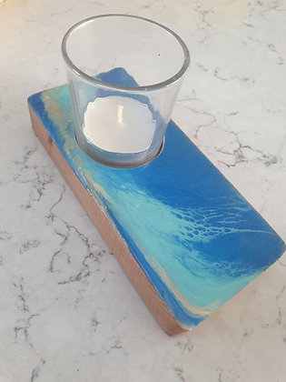 Ocean Bubbles Narrow Candle Tray