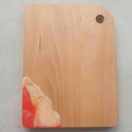 Red & Gold Serving Board