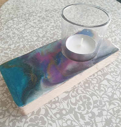 Colourful Narrow Candle Tray
